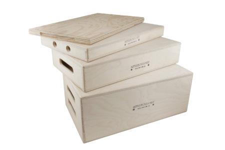 Apple Boxes Full Set