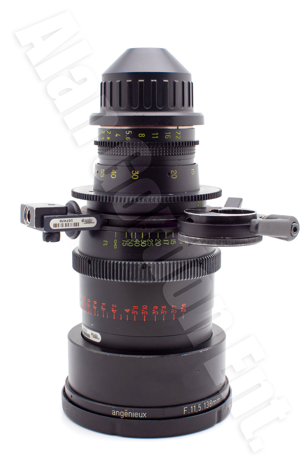 Angenieux 11 5 138mm Anamorphic Zoom Lens Pl Mount For