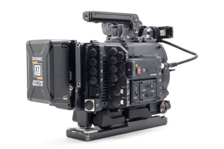 Canon C700 right rear view of ports - L.A. Rental