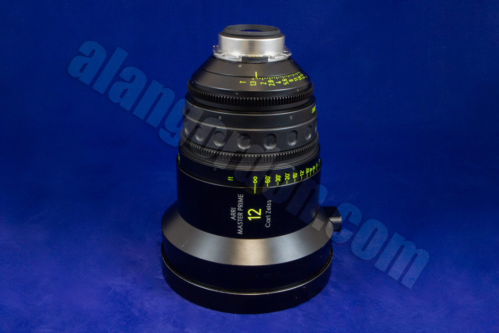 Side view of an Arri Master Prime 12mm Lens