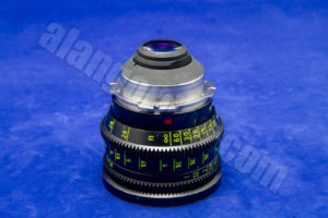 50mm Zeiss Super Speed Lens side view